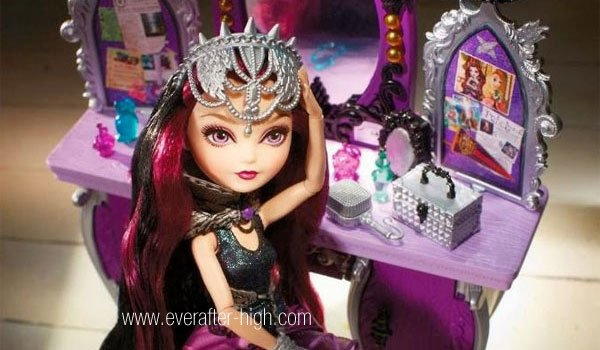 Raven Queen's Destiny Vanity