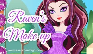 Raven Queen special day Make up