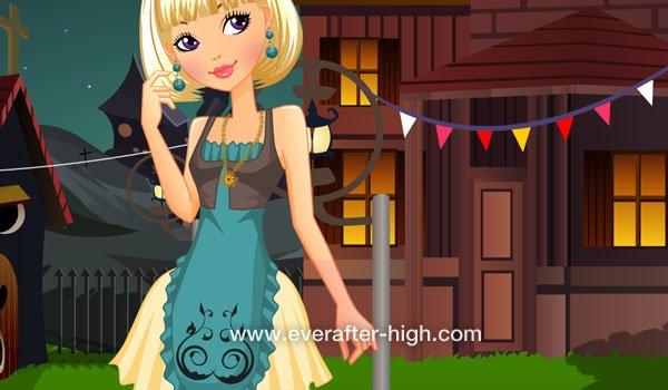 Blondie Lockes Bears Village Dress up