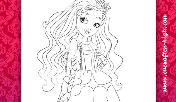 Coloring page from Cedar Wood