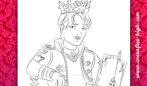 Coloring Page from Daring Charming