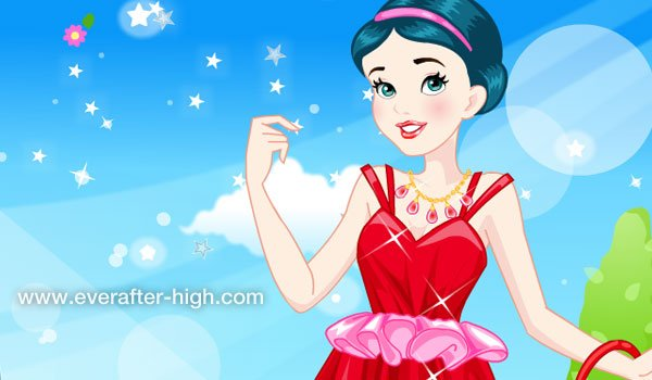 snowhite spa session game