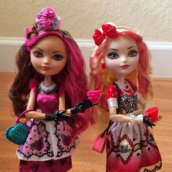 Briar Beauty and Apple White Hat Tastic Party doll news