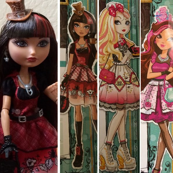 Cerise Hood, Apple White and Briar Beauty Hat-Tastic Party doll line news