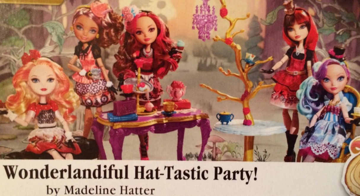 Madeline Hatter Hat Tastic Party's Playset