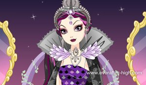 Raven Queen Legacy Day dress up