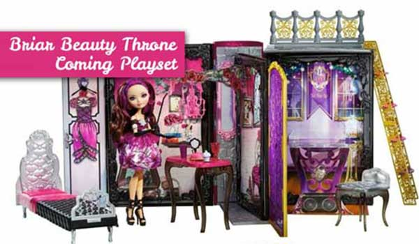 Briar Beauty Throne Coming Playset