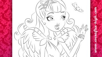 1000 images about monster high coloring pages on cupid coloring pages