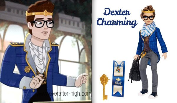 Dexter Charming Doll Ever After High