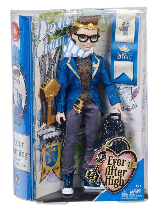 Dexter Charming Doll Packaging