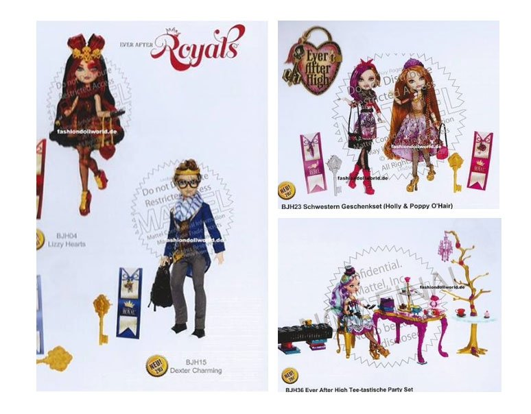new dolls mattel has presented in its catalog.