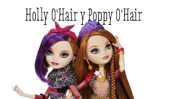 Holly and Poppy O'Hair