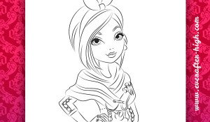 Coloring Page from Poppy O'Hair