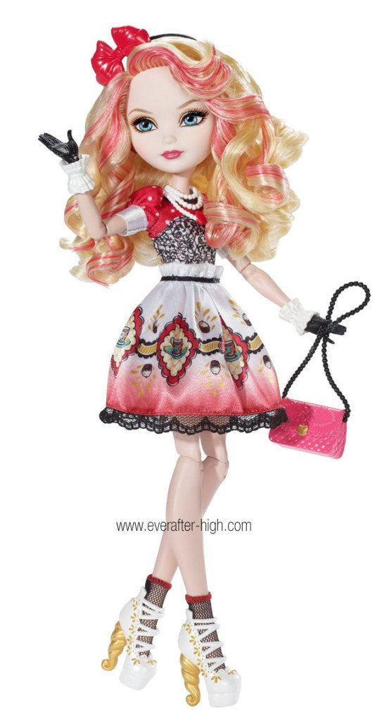 Apple White Hat-Tastic Party Doll