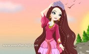 Holly O'Hair Castle Party Dress up Game