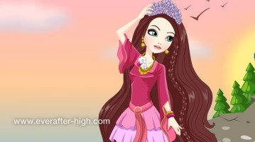 Holly O'Hair Castle Dress up Game