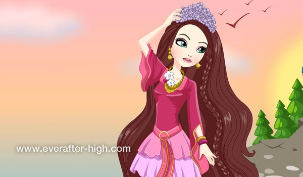 Holly OHair Castle Party Dress Up Game Ever After High - Games for hairstyle and dress up