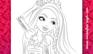 Coloring Page from Holly O'Hair