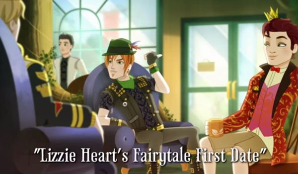 Lizzie Hearts fairytale first date video
