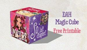 Printable Magic Cube