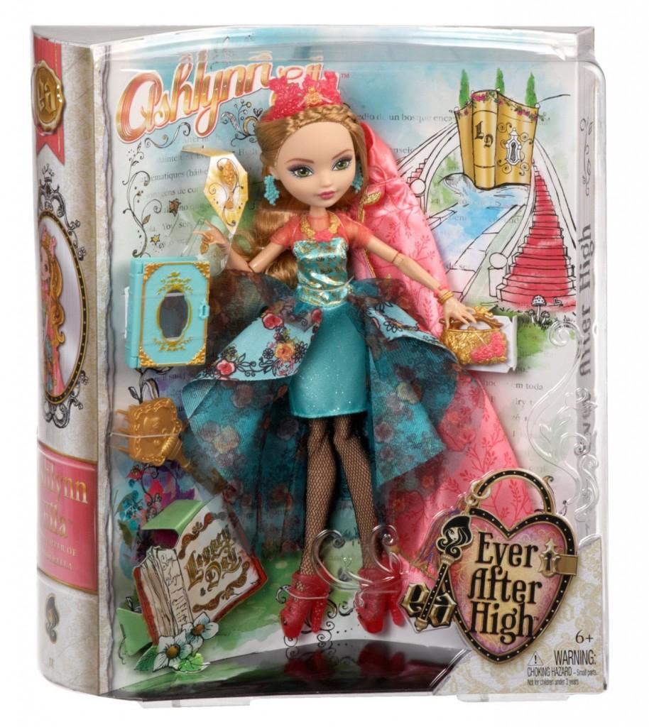 Ashlynn Ella legacy day doll box