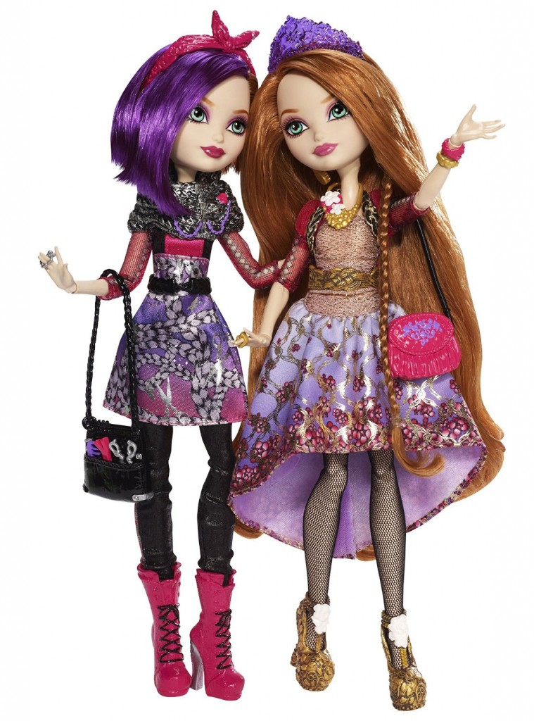 Holly and Poppy O'Hair Basic Doll Together