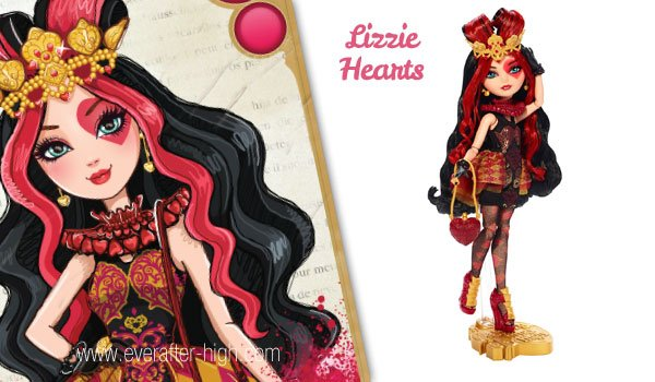 Lizzie Hearts First Wave