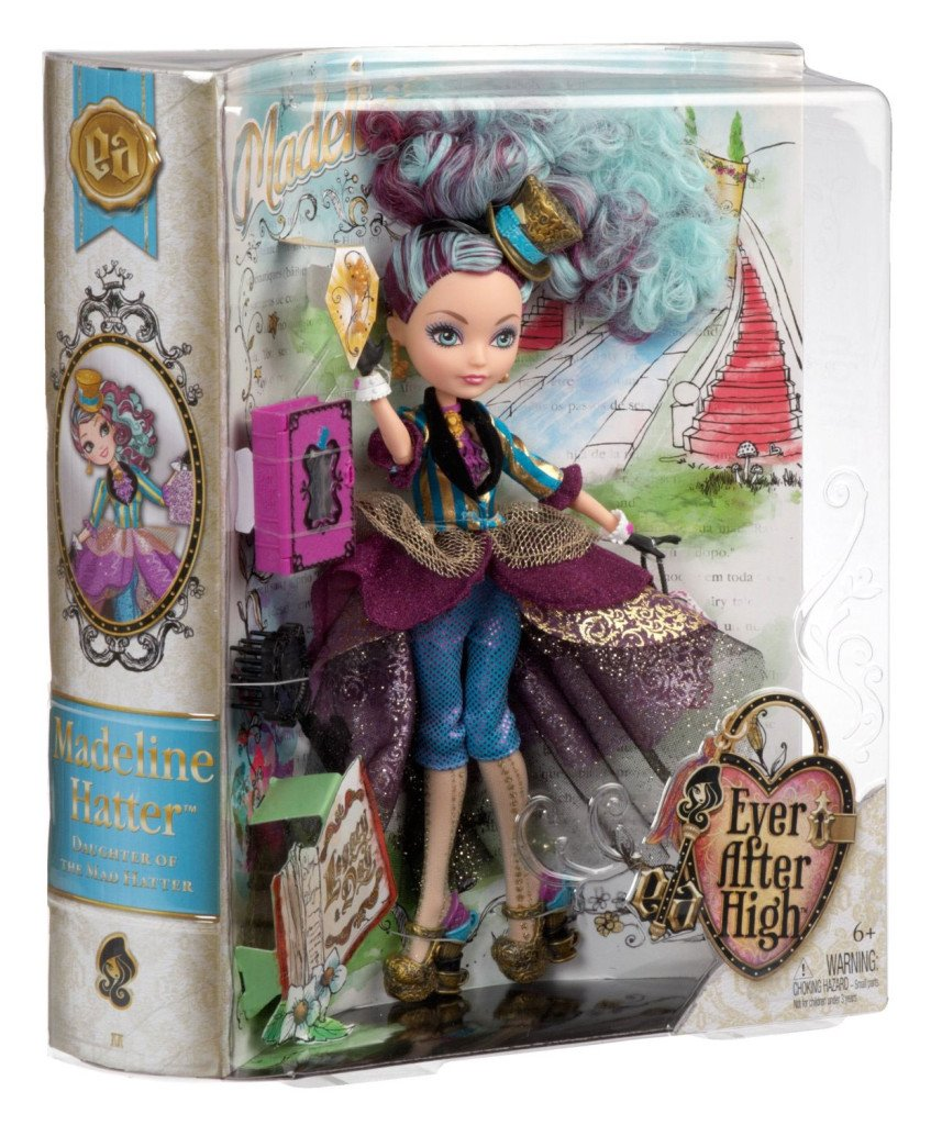 Maddeline Hatter Legacy Day doll box