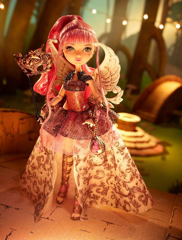 CA Cupid Thronecoming doll dress