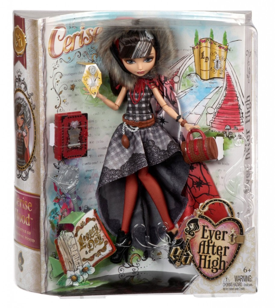Cerise Hoood Legacy Day doll box