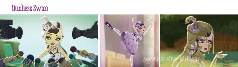 Duchess Swan webisode images