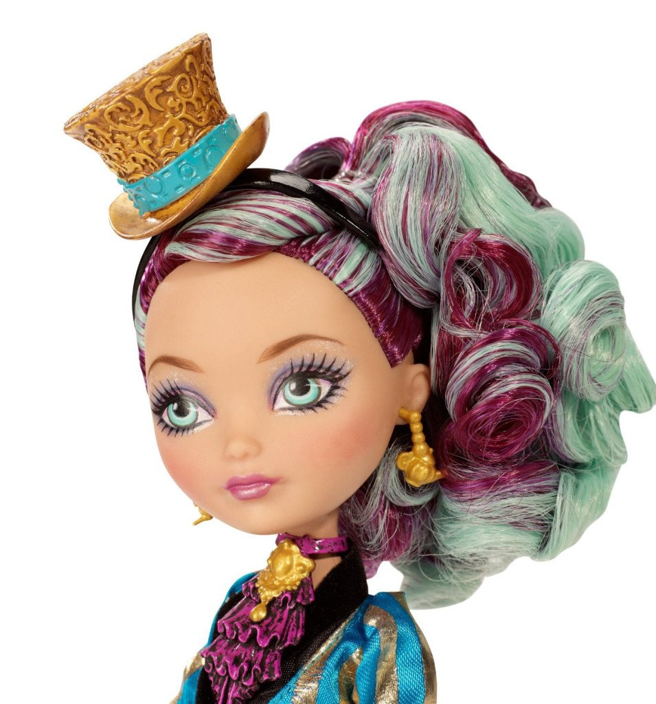 Maddeline Hatter Legacy Day doll Face
