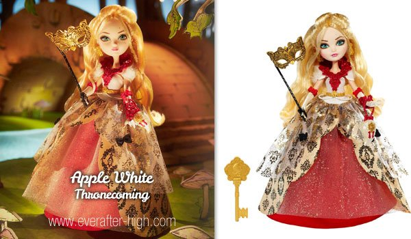 Ever After High Apple White Thronecoming Doll New in Box