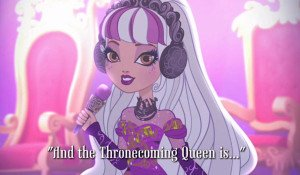 And the Thronecoming Queen is... Video