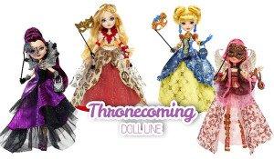 Thronecoming dolls