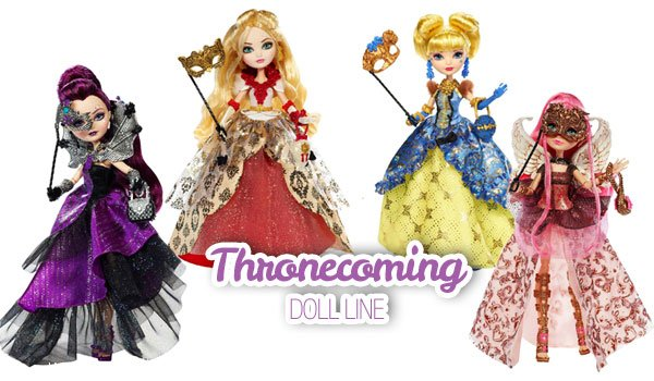 Thronecoming dolls