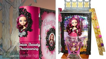 Briar Beauty Thronecoming doll and Playset