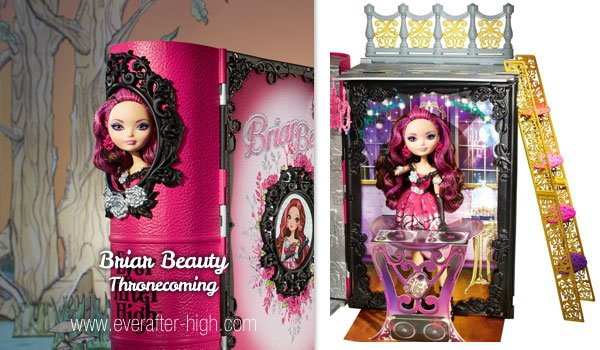Briar Beauty Thronecoming Playset