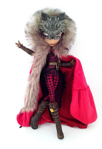 Cerise Wolf Daugther Of Big Bad Wolf Ever After High