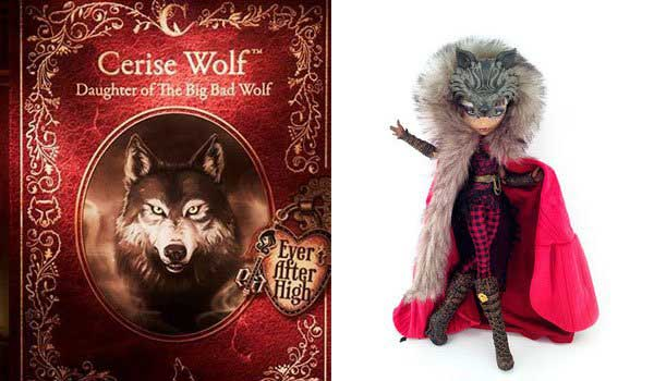 Cerise Wolf, Daugther of Big Bad Wolf