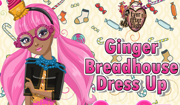 Ginger Breadhouse Dress Up