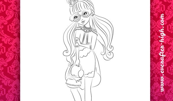 Ginger Breadhouse Coloring Page 2 By EverAfterHigh