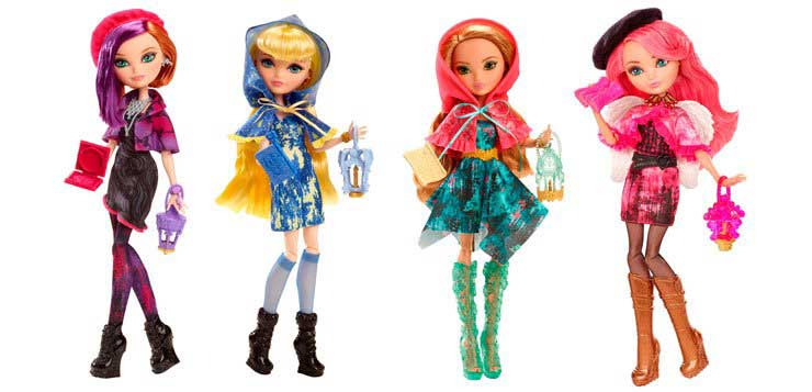 Through the woods doll line | Ever After High