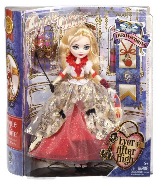 Apple White Thronecoming Doll Box